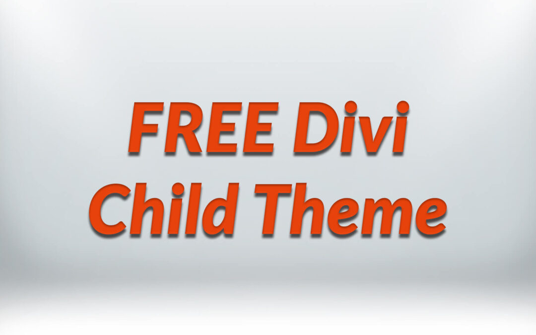 Free Divi Child Theme